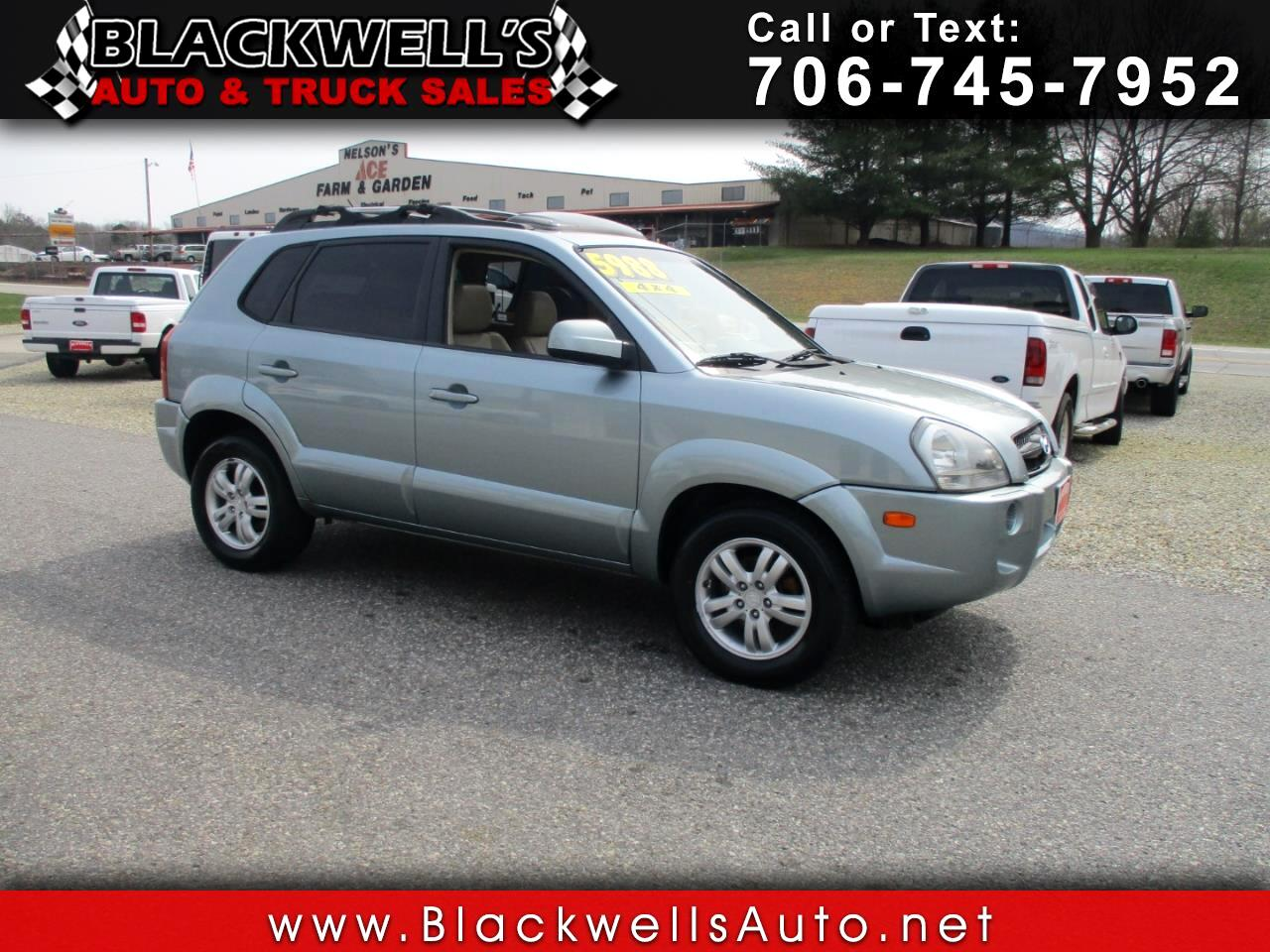 2006 Hyundai Tucson 4dr Limited 4WD 2.7L V6 Auto