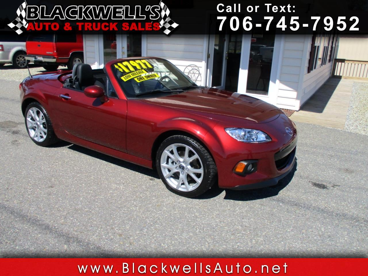 2013 Mazda MX-5 Miata 2dr Conv Hard Top Man Grand Touring