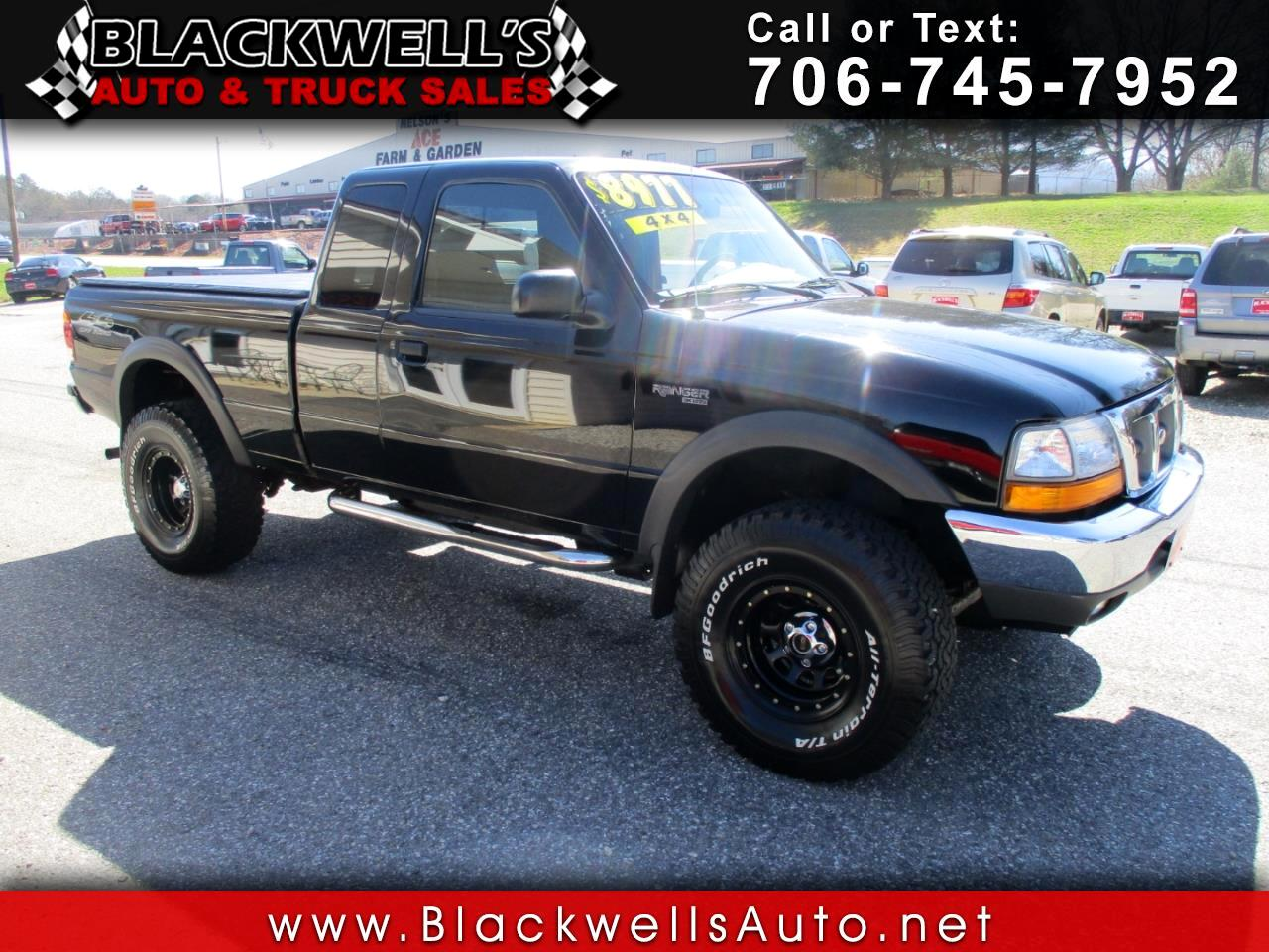 "1999 Ford Ranger Supercab 126"" WB XLT 4WD"