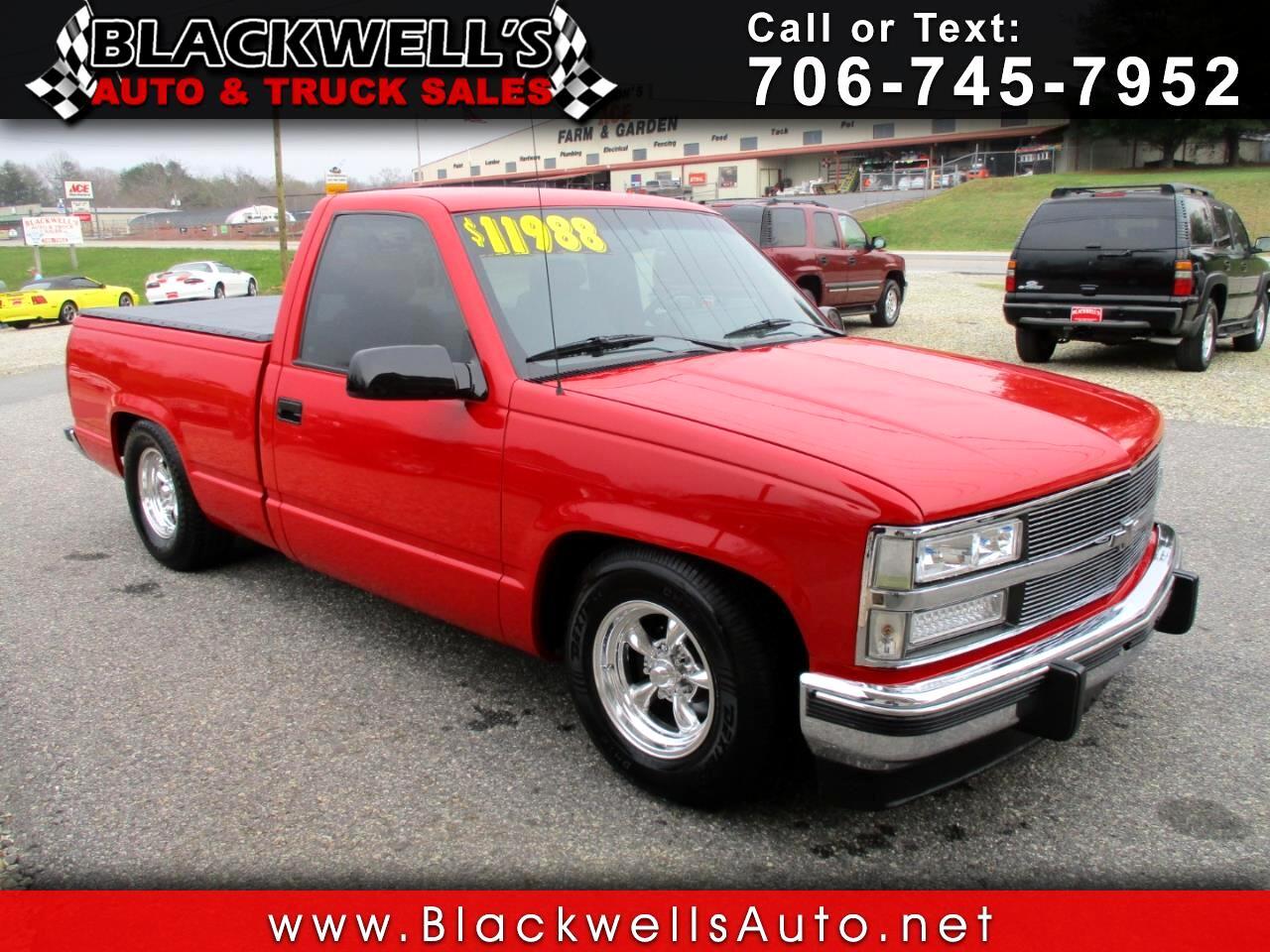 1988 Chevrolet 1/2 Ton Pickups Fleetside 117.5