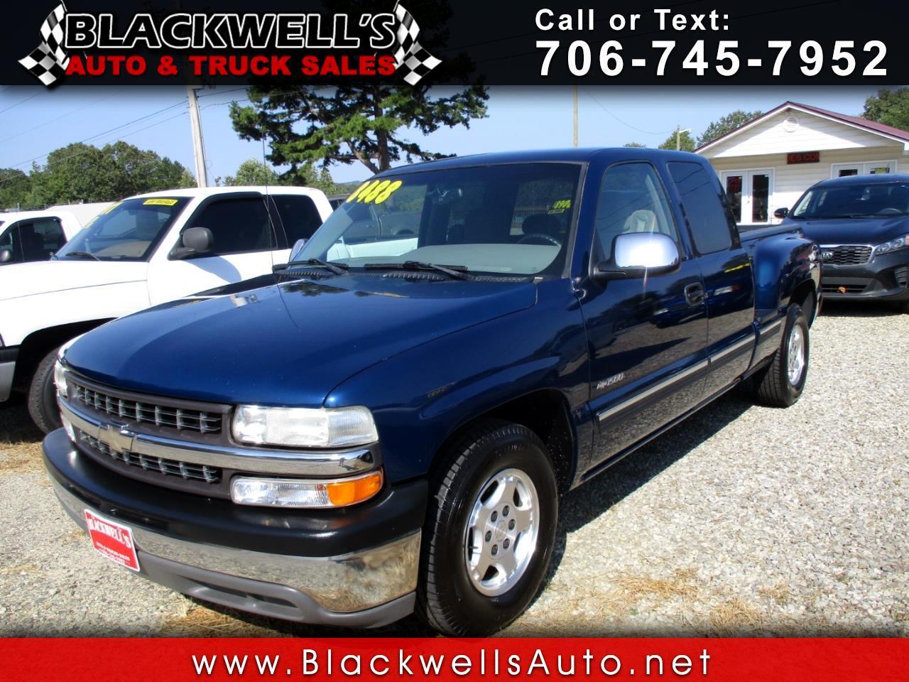 2000 Chevrolet Silverado 1500 3dr Ext Cab 143.5