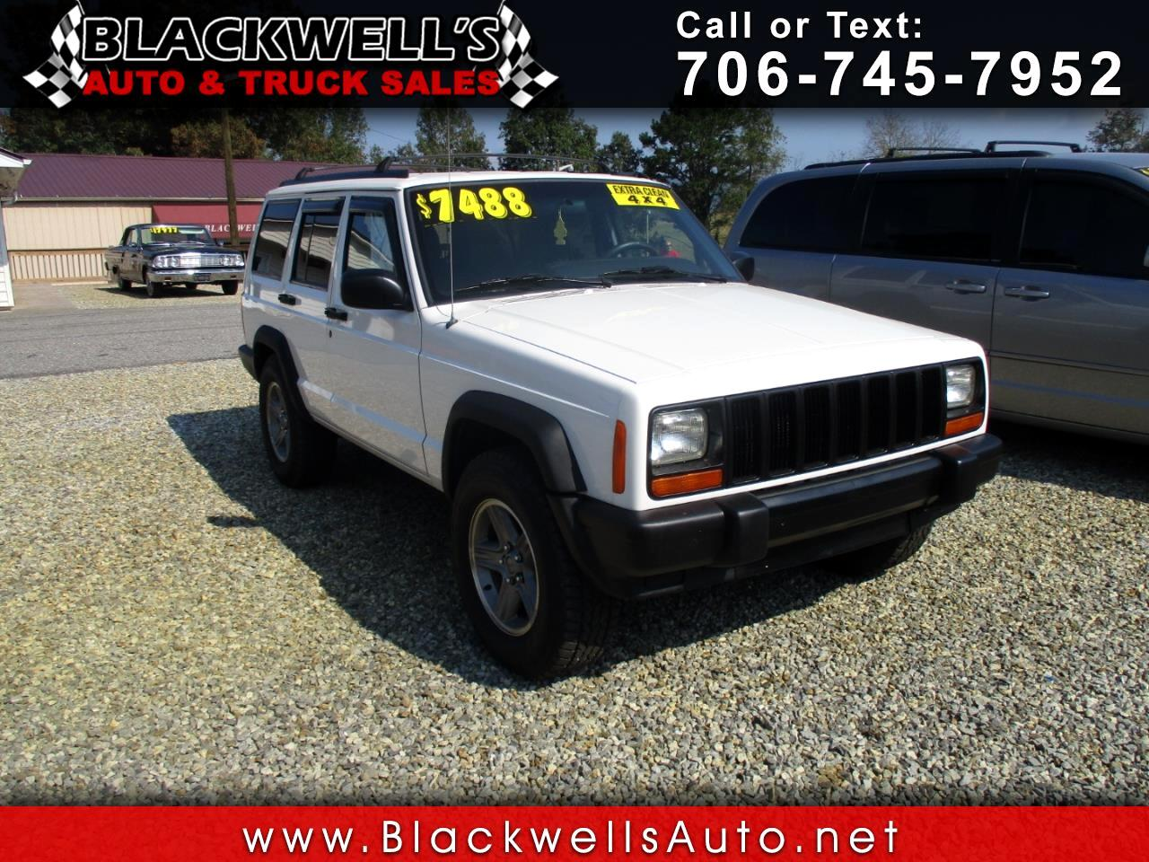Cherokee Truck Sales >> Used 1998 Jeep Cherokee 4dr Classic For Sale In Blairsville