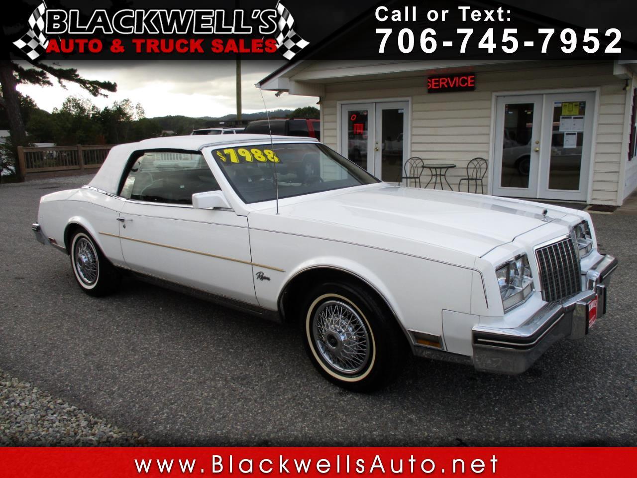 1981 Buick Riviera CONVERTIBLE
