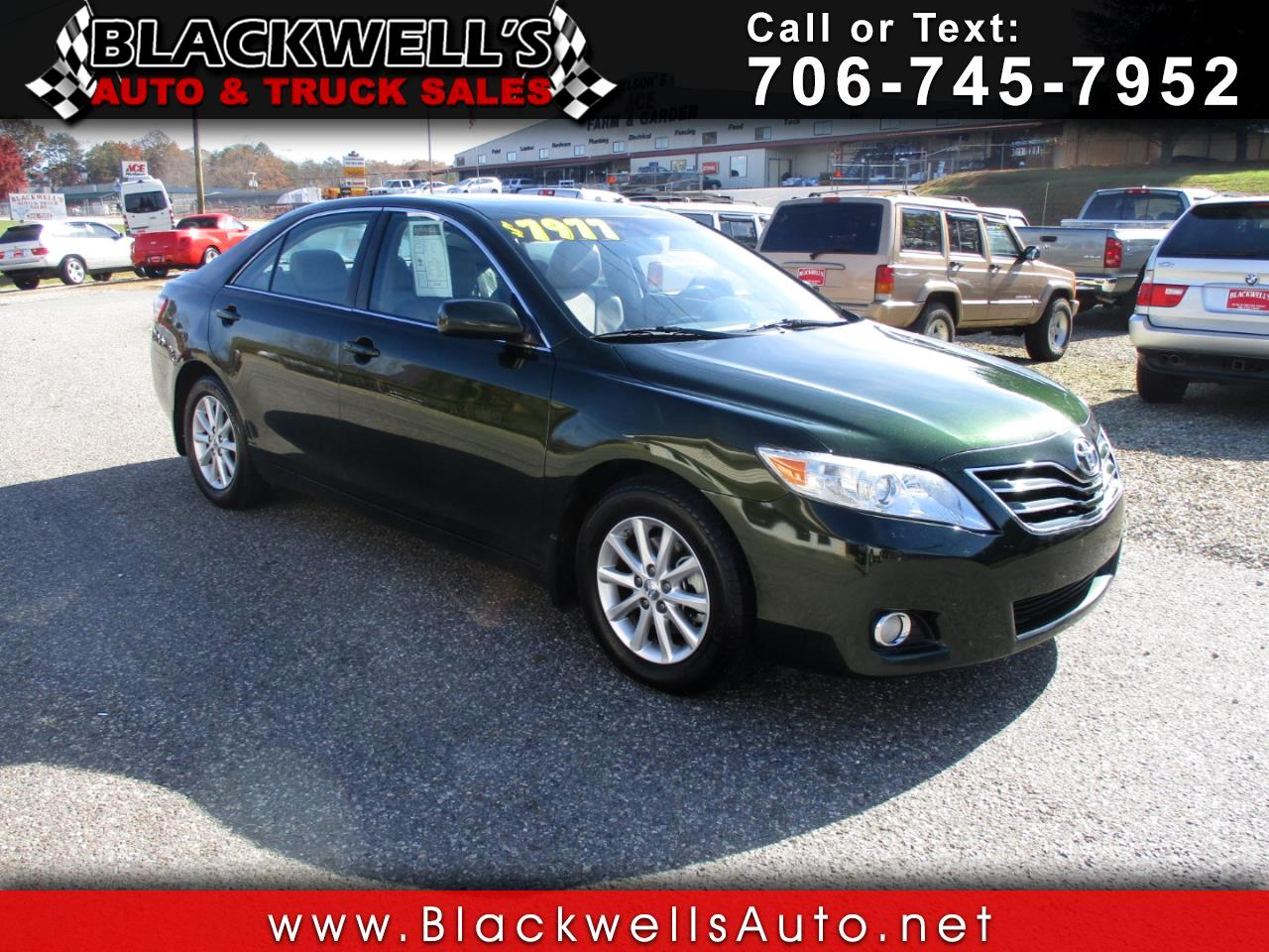 2010 Toyota Camry 4dr Sdn I4 Auto XLE (Natl)