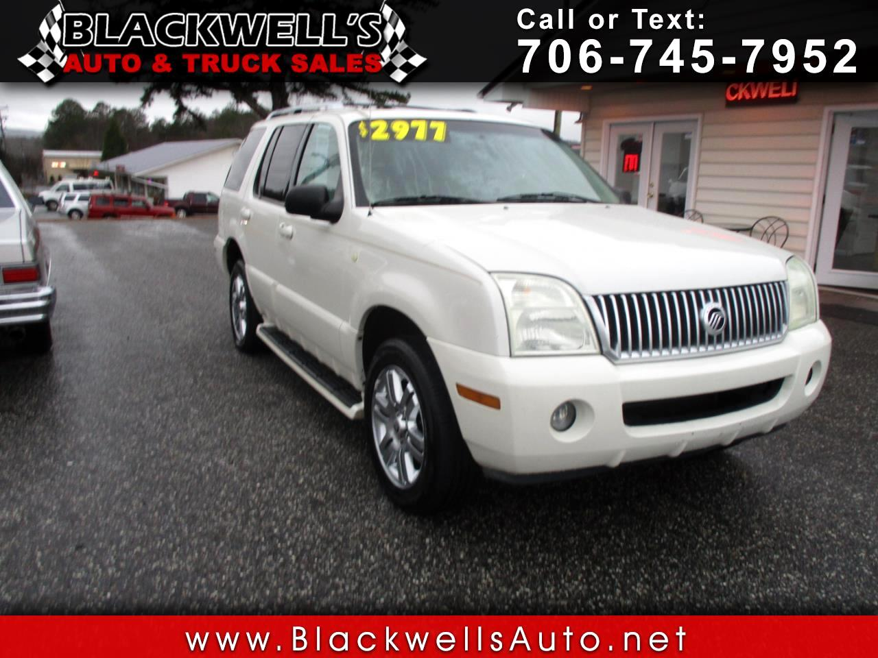 "Mercury Mountaineer 4dr 114"" WB Convenience 2003"