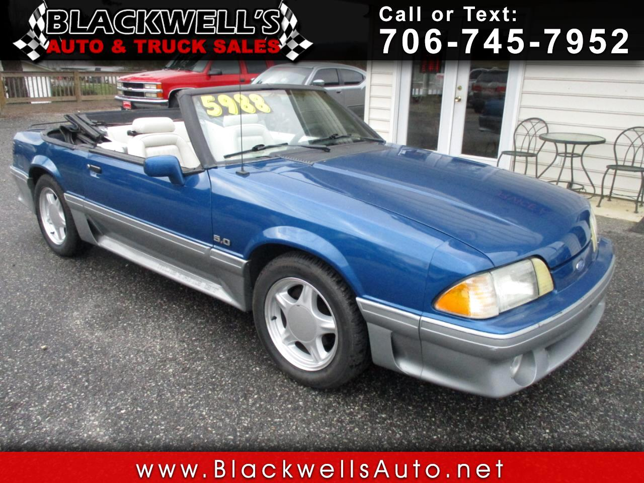 Ford Mustang 2dr Convertible GT 1990