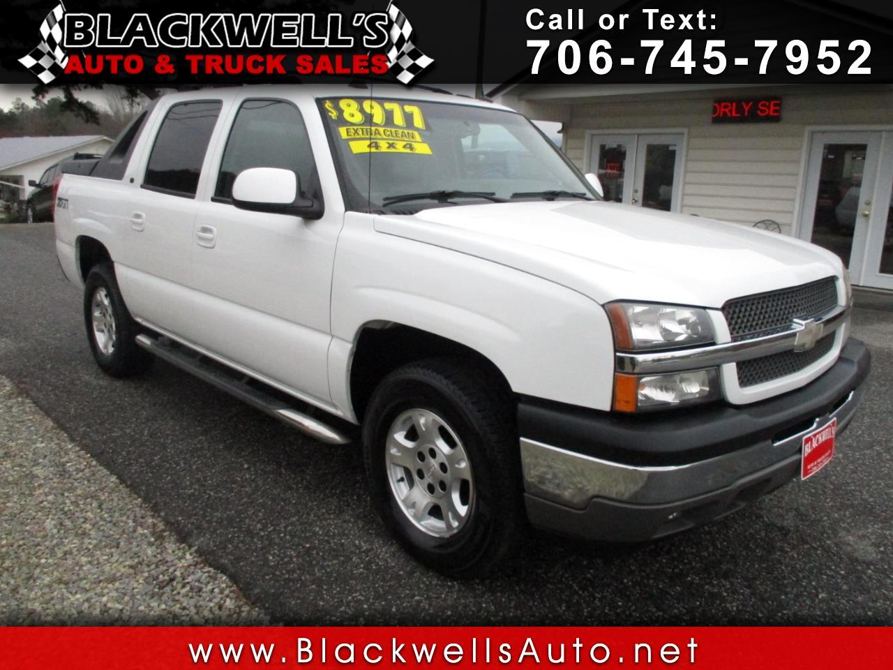 "Chevrolet Avalanche 1500 5dr Crew Cab 130"" WB 4WD Z71 2005"