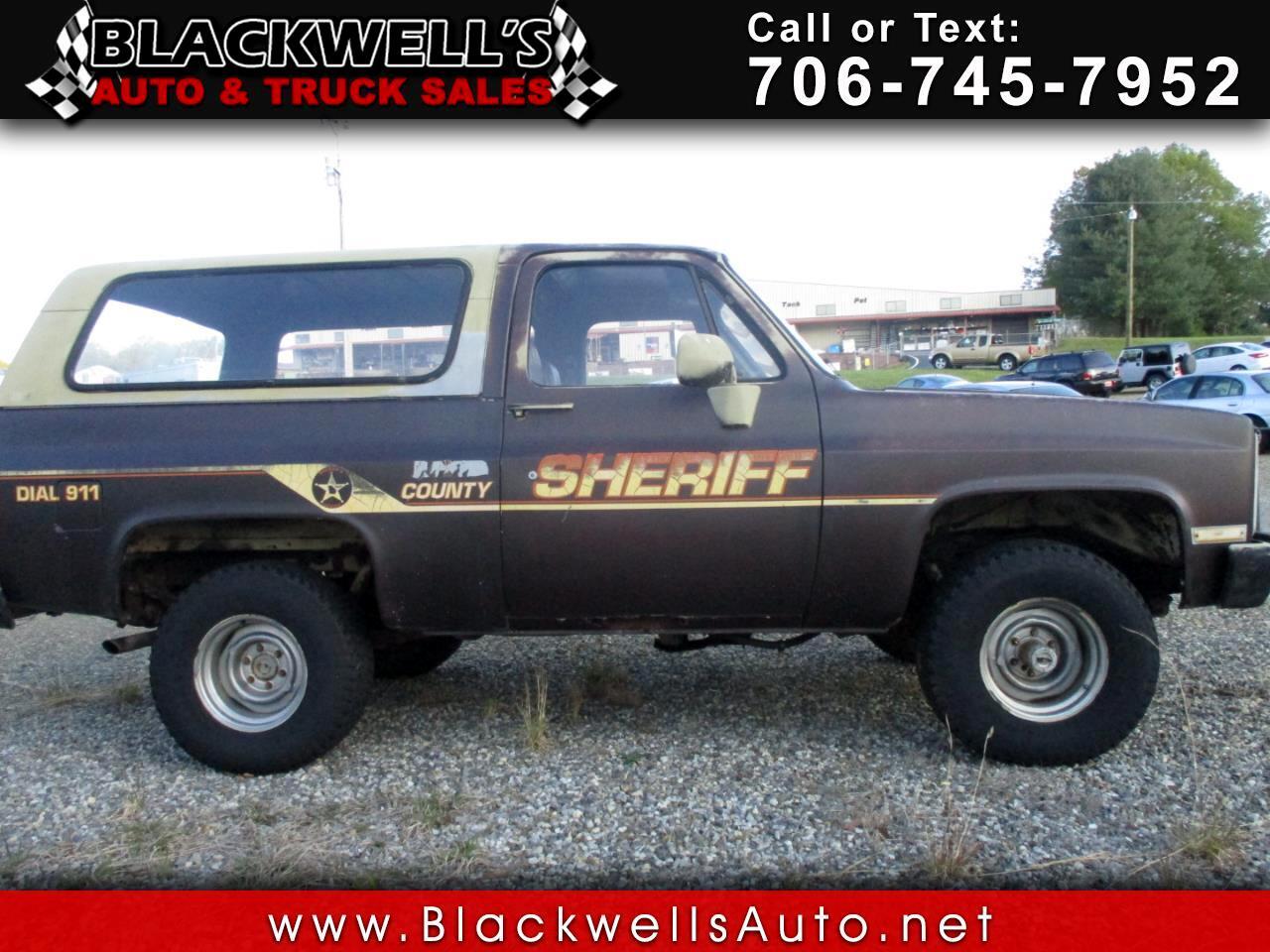 Chevrolet K Blazer  1985