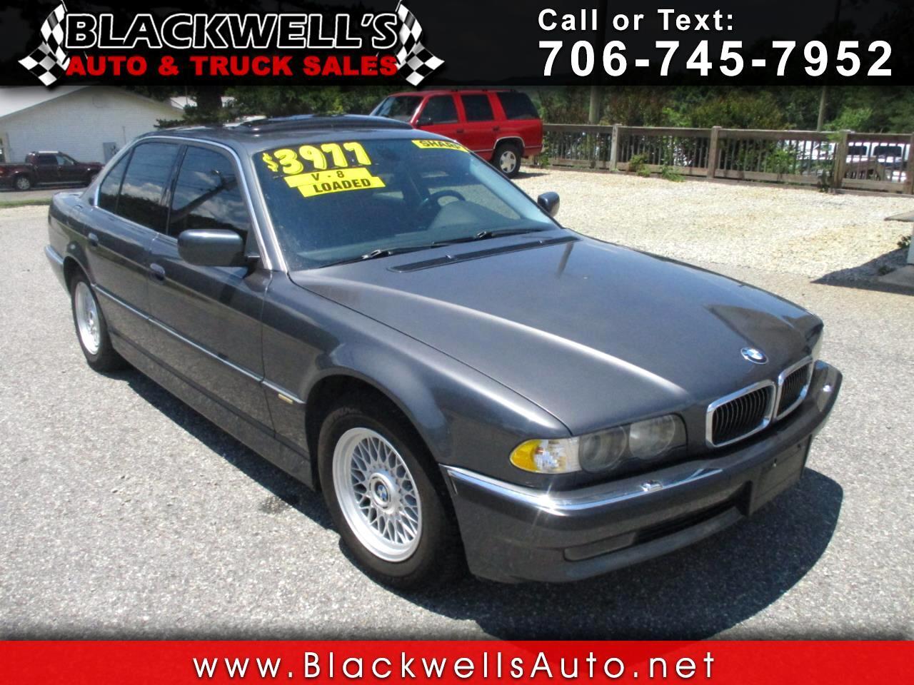 BMW 7 Series 740iA 4dr Sdn 2001