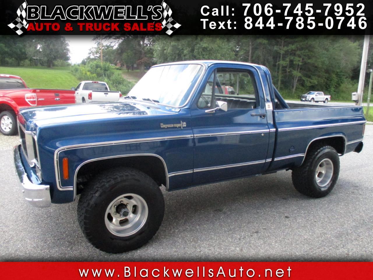 Chevrolet Trucks C10  1974