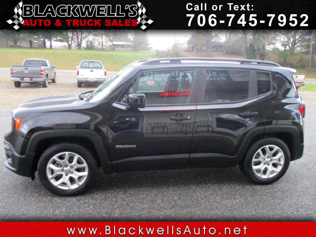 Jeep Renegade FWD 4dr Latitude 2015