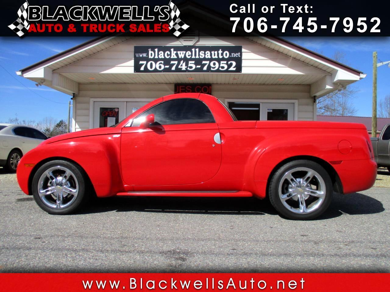 """Chevrolet SSR Reg Cab 116.0"""" WB LS 2005"""