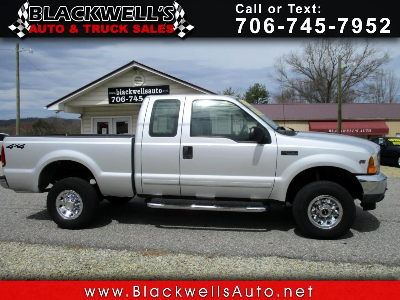 "Ford Super Duty F-250 Supercab 142"" Lariat 4WD 2001"