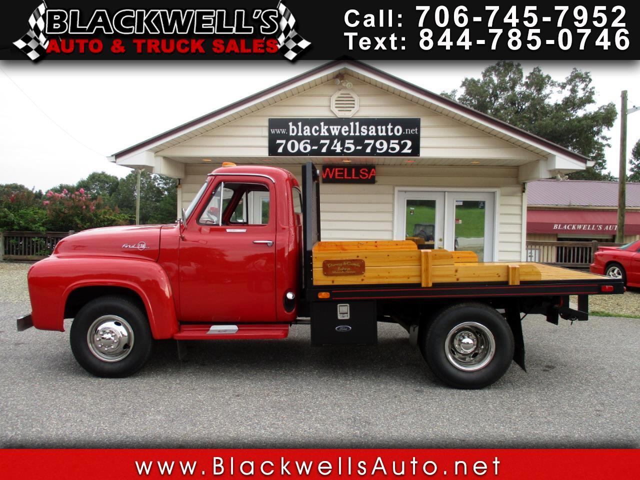 Ford 1 Ton Trucks  1955
