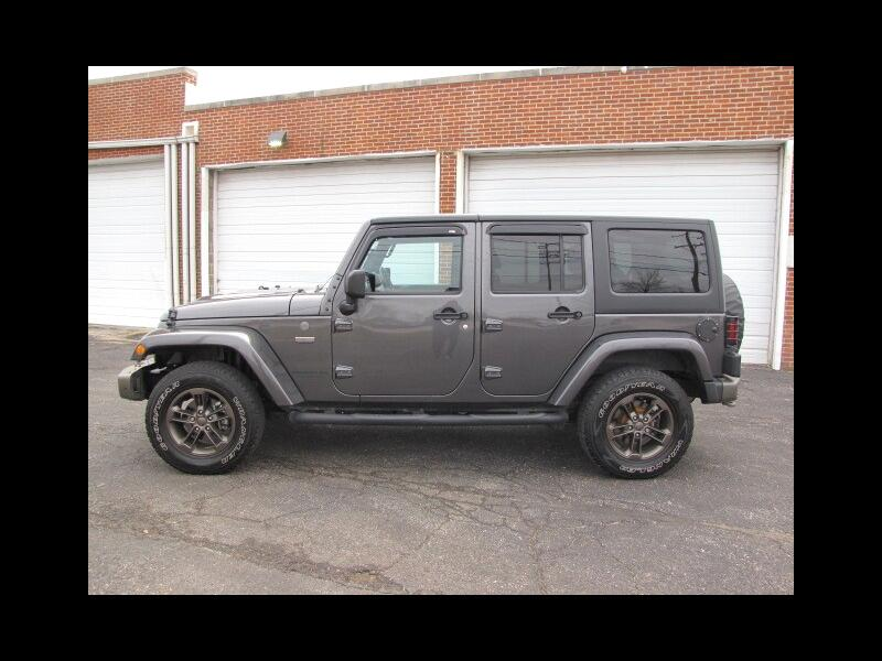 2016 Jeep Wrangler Unlimited 4WD 4dr 75th Anniversary *Ltd Avail*