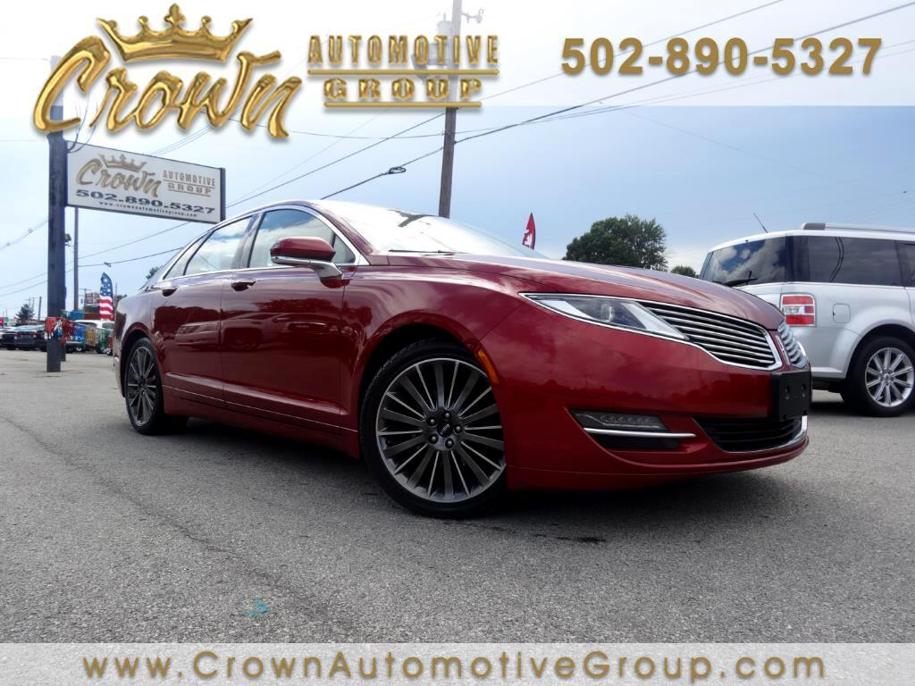 used 2015 lincoln mkz 4dr sdn awd for sale in louisville ky 40258 crown automotive group. Black Bedroom Furniture Sets. Home Design Ideas