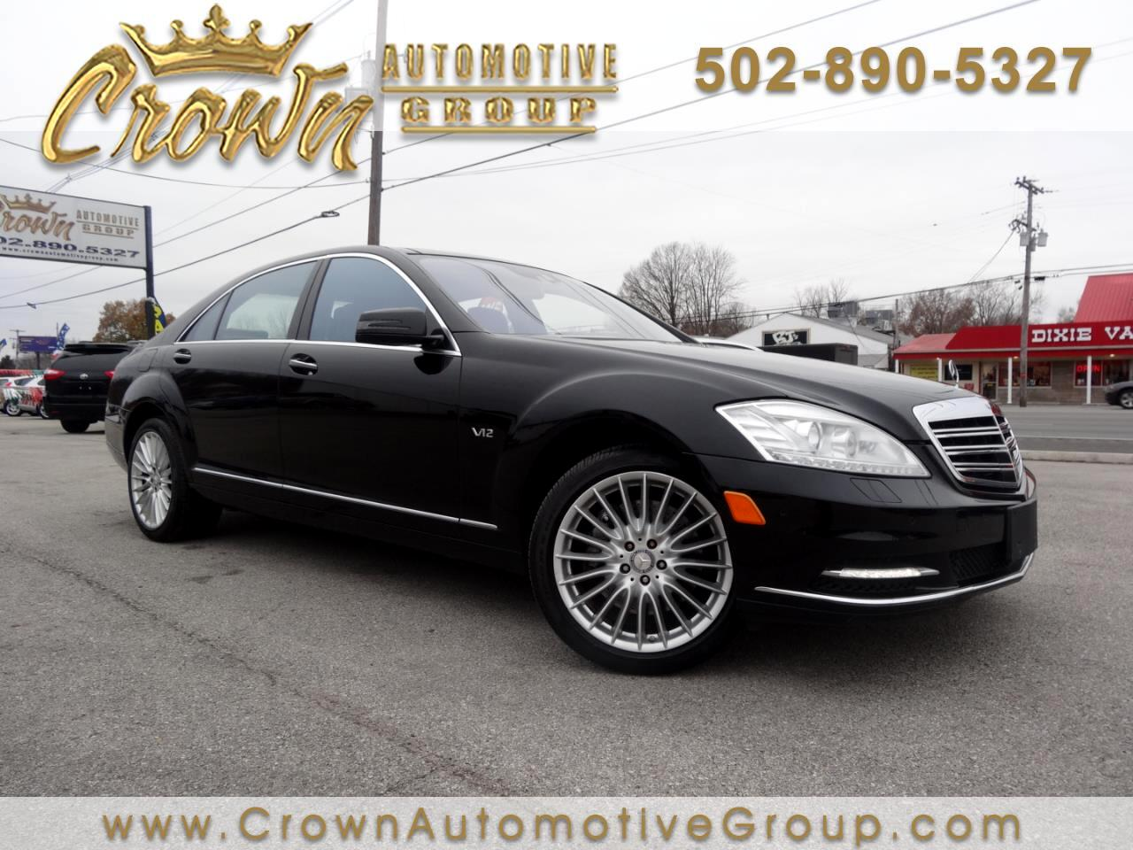 2010 Mercedes-Benz S-Class 4dr Sdn S 600 RWD
