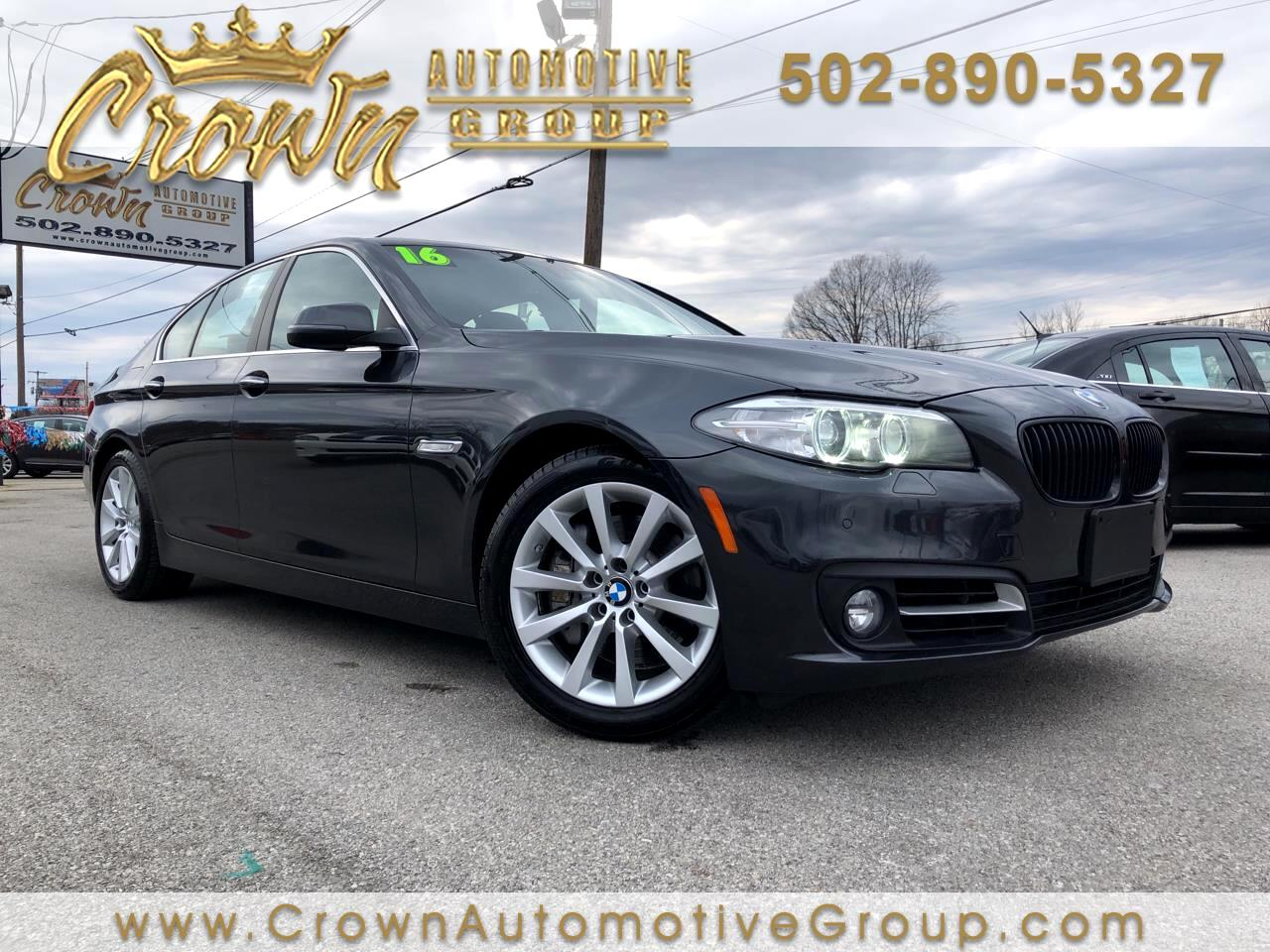 BMW 5 Series 4dr Sdn 535i xDrive AWD 2016