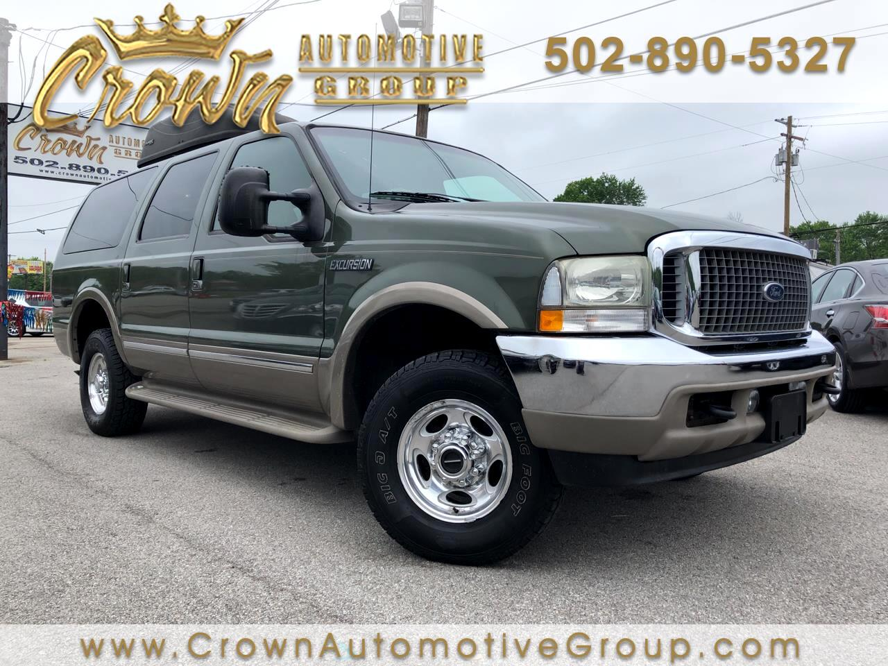 """2002 Ford Excursion 137"""" WB 6.8L Limited 4WD"""