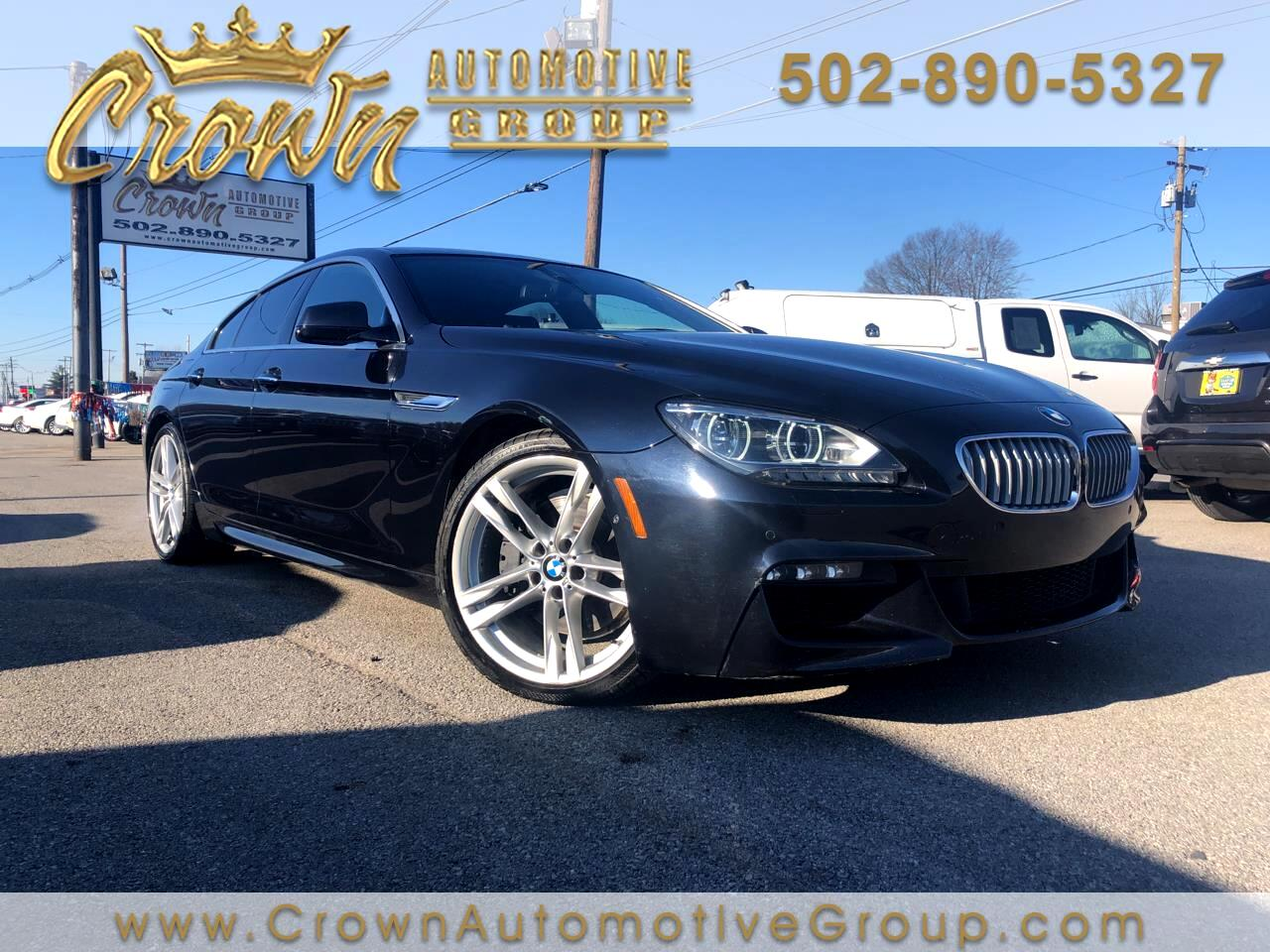 BMW 6 Series 4dr Sdn 650i Gran Coupe 2013