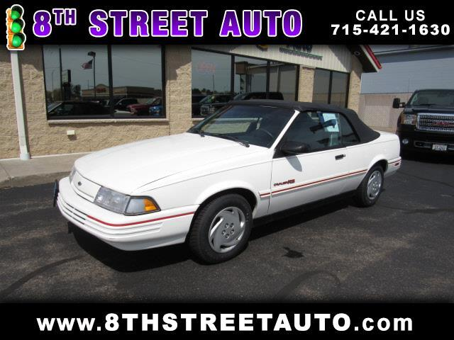 1992 Chevrolet Cavalier RS Convertible