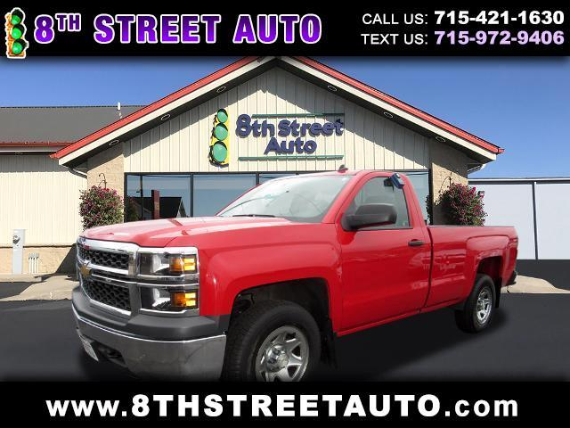 Chevrolet Silverado 1500 Work Truck 1WT Regular Cab 4WD 2014