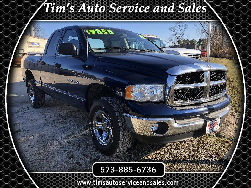 Dodge Ram 1500 ST Quad Cab Short Bed 4WD 2003