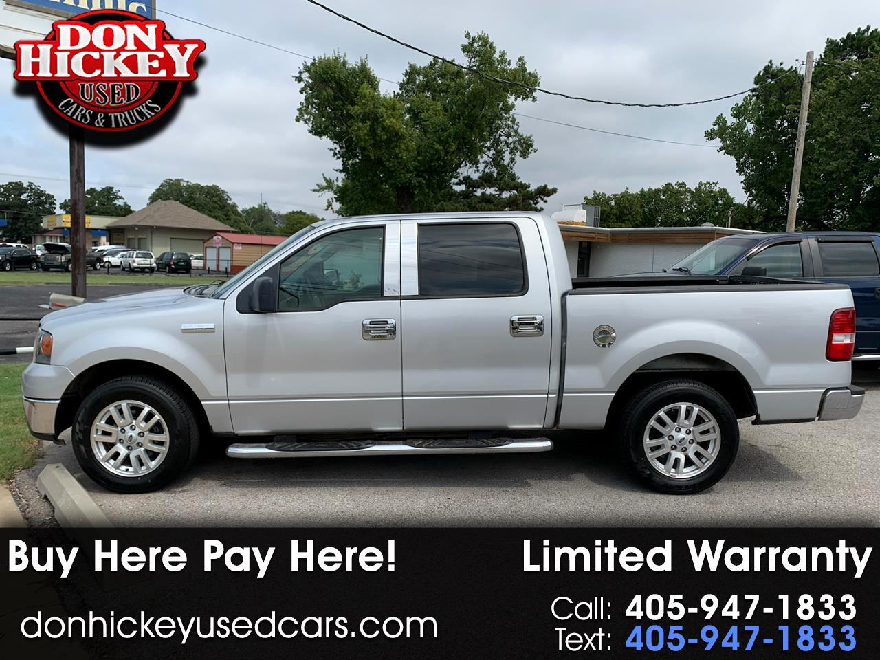 "Ford F-150 2WD SuperCab 145"" 60th Anniversary 2008"