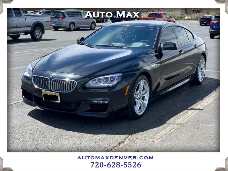 2014 BMW 6-Series Gran Coupe 650i xDrive