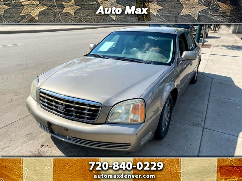 used 2002 cadillac deville dhs for sale in denver co 80210 auto max used 2002 cadillac deville dhs for sale