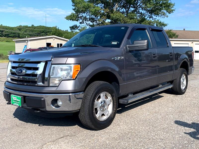 "Ford F-150 4WD SuperCrew 139"" XLT 2012"