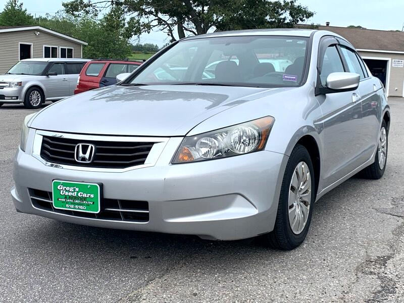 2008 Honda Accord Sdn 4dr I4 AT LX