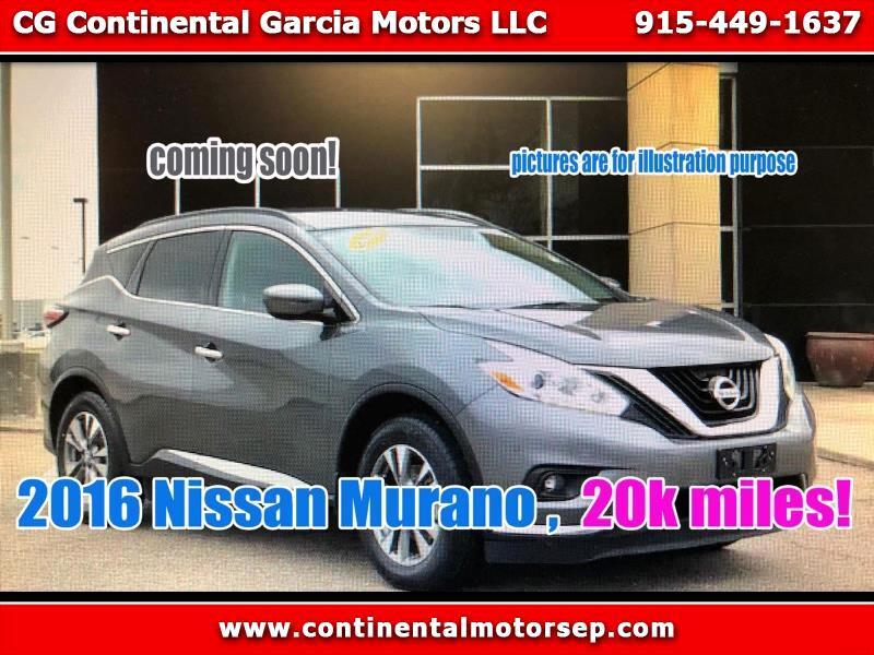 2016 Nissan Murano Platinum FWD