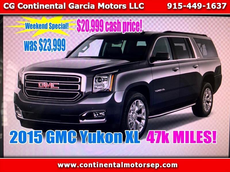 2015 GMC Yukon XL SLT 1/2 Ton 4WD