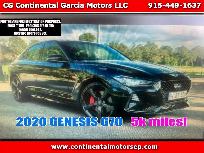 Genesis G70 3.3T Design 2020