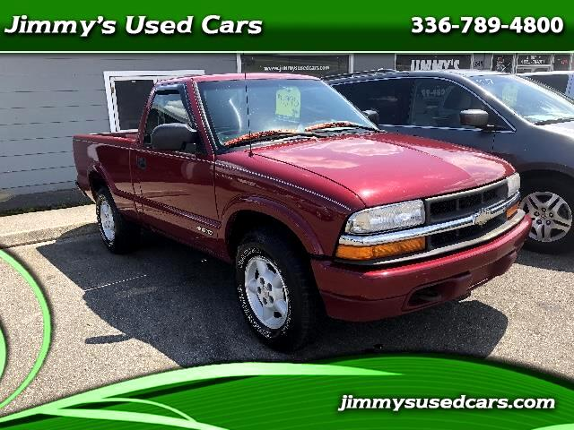 2000 Chevrolet S10 Pickup Short Bed 4WD