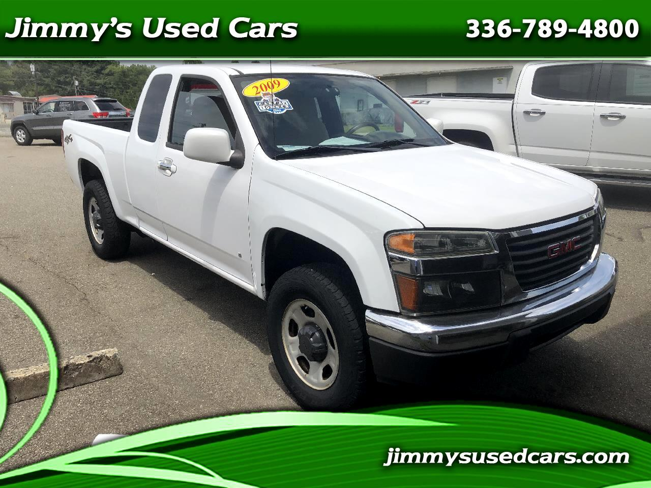 GMC Canyon Work Truck Ext. Cab 4WD 2009