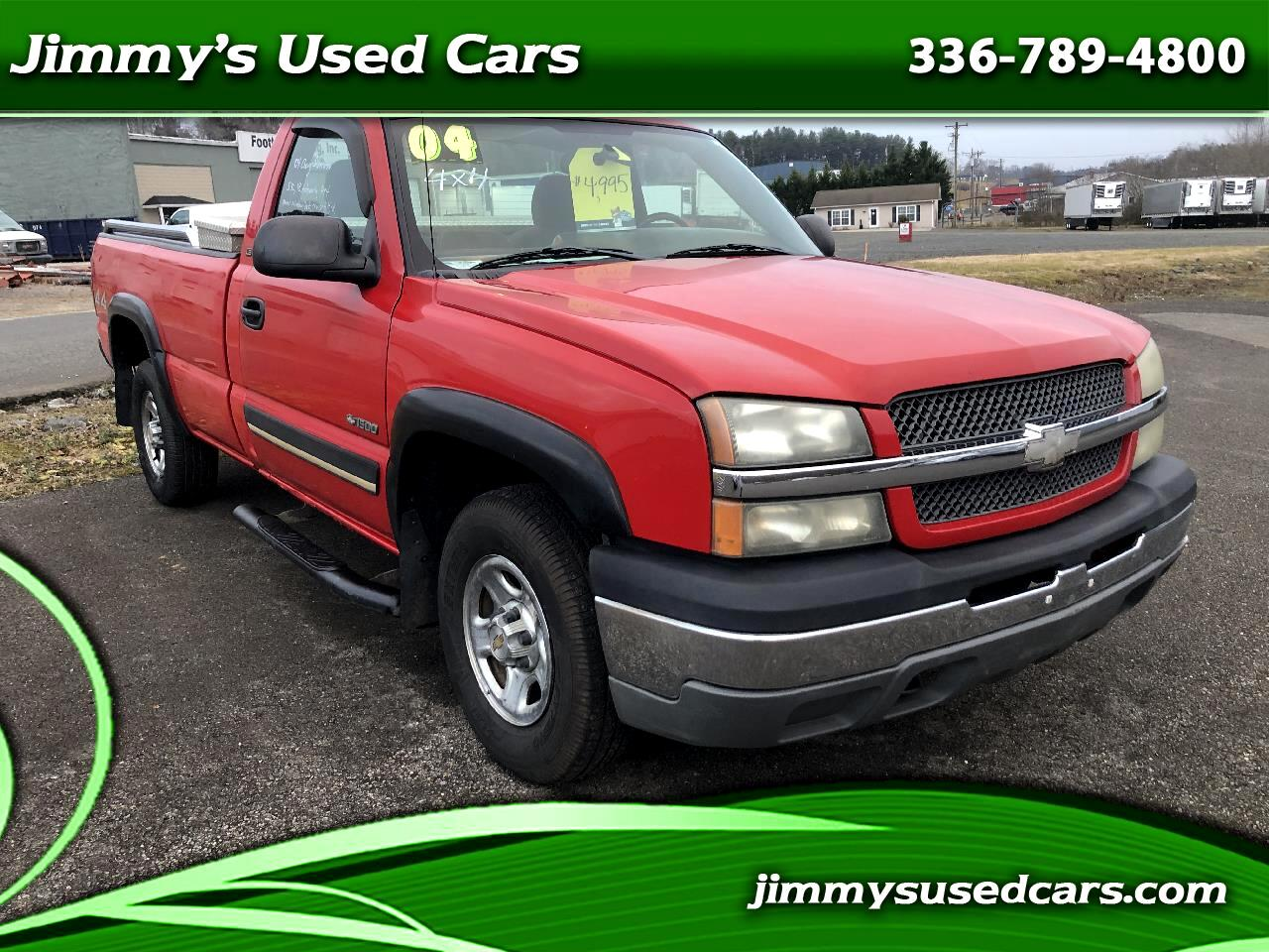 Chevrolet Silverado 1500 LS Short Bed 4WD 2004