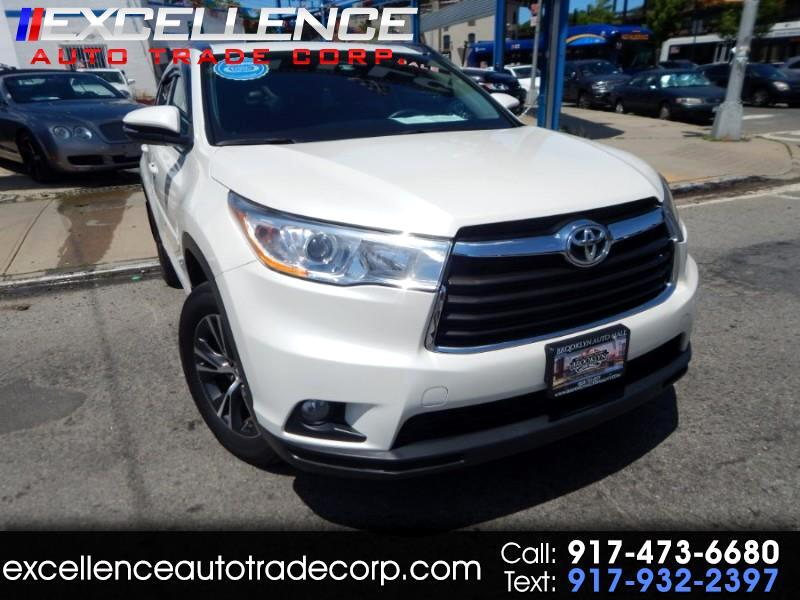 Toyota Highlander Platinum AWD (Natl) 2016