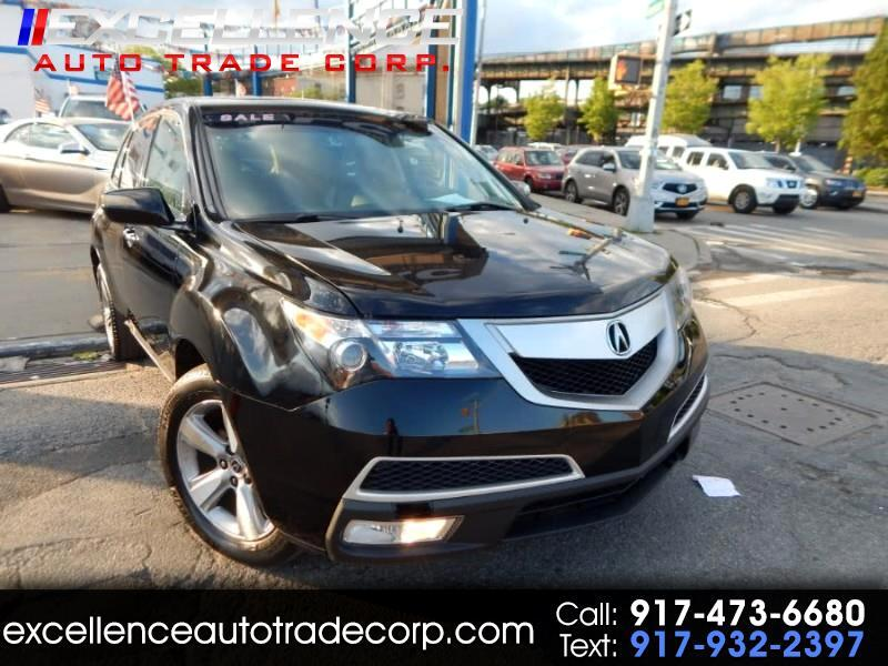 Acura MDX Tech Package and Entertainment Package 2010