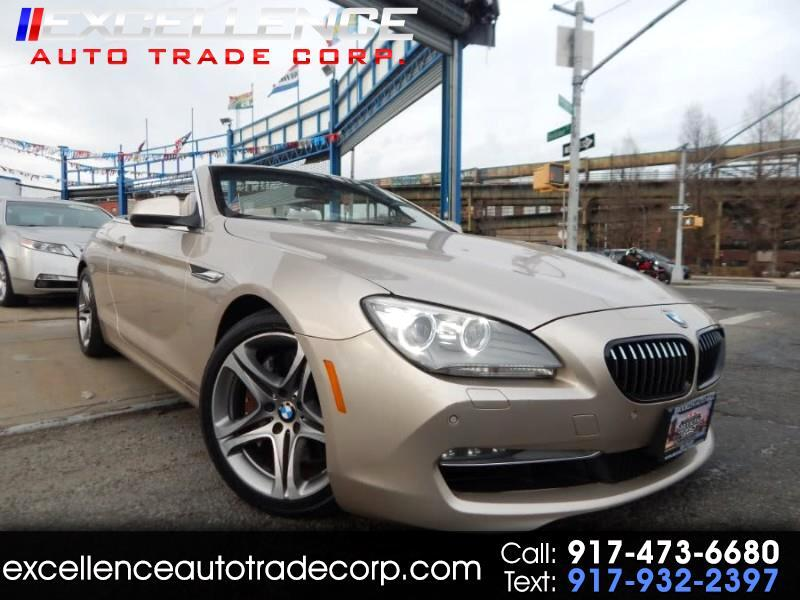 BMW 6-Series 650i xDrive Convertible 2012