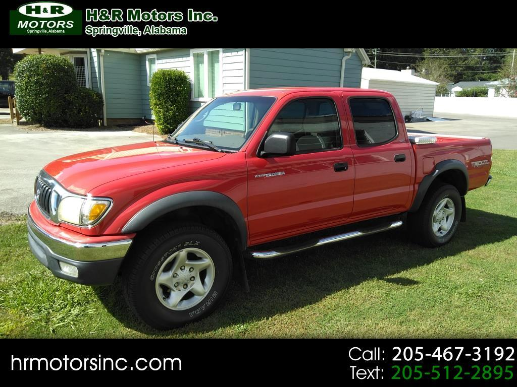 2004 Toyota Tacoma DOUBLE CAB PRER