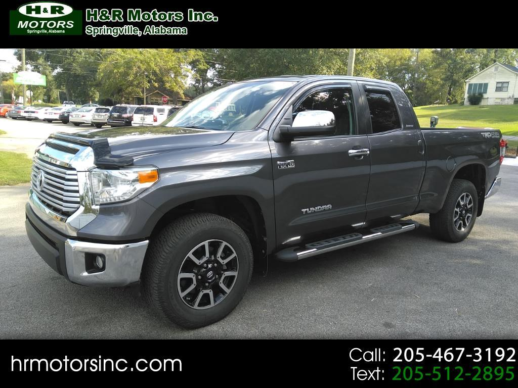 2014 Toyota Tundra 4WD Truck DOUBLE CAB LIMITED