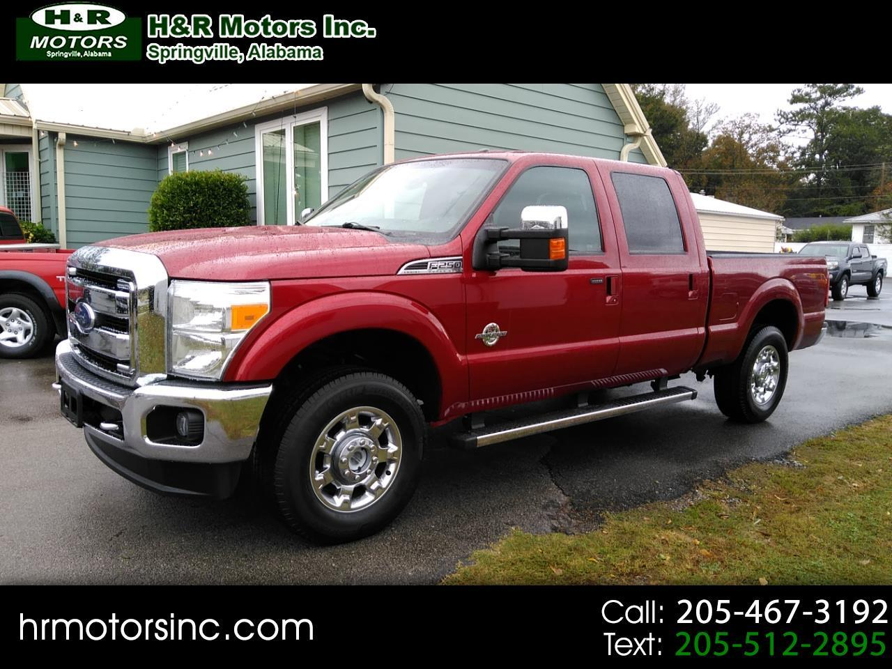 2015 Ford Super Duty F-250 SRW SUPER DUTY Lariat