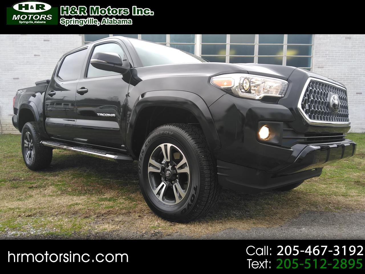 2019 Toyota Tacoma 4WD DOUBLE CAB TRD Sport