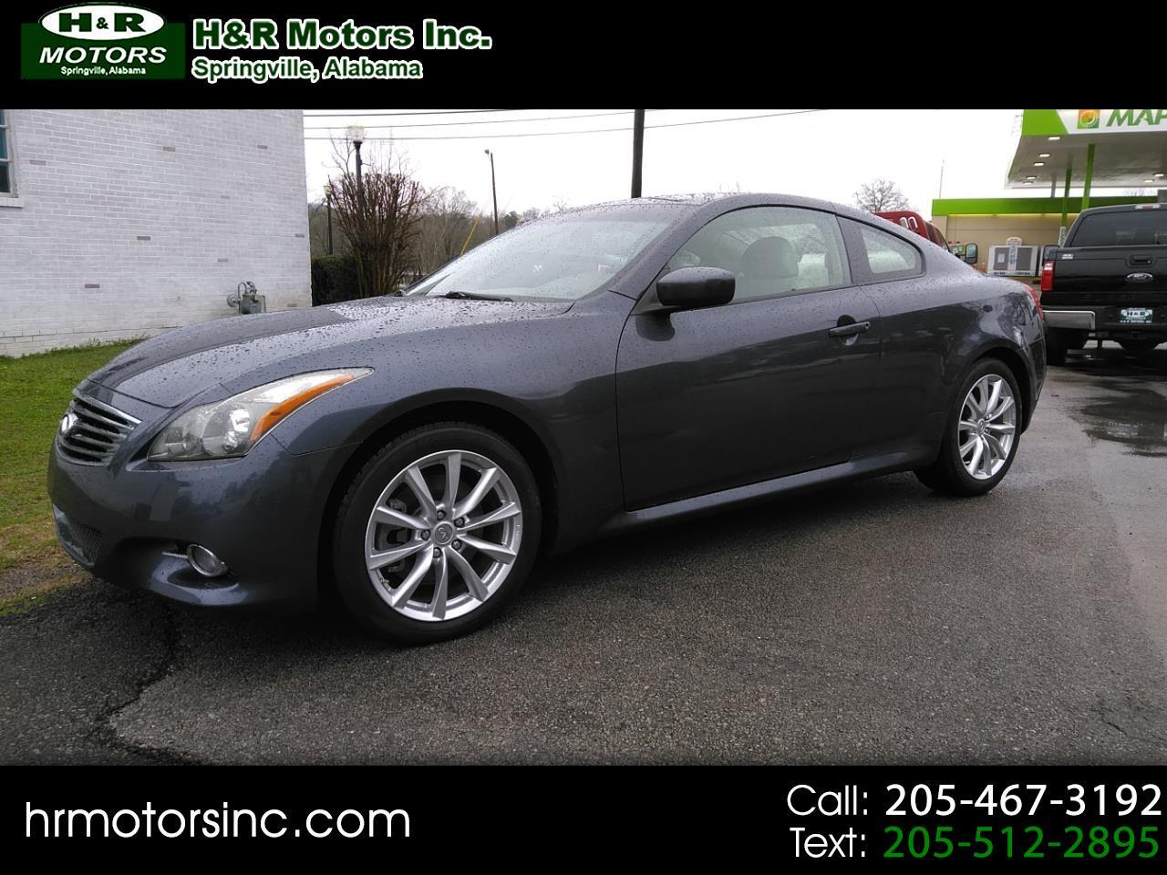 2011 Infiniti G37 Coupe BASE