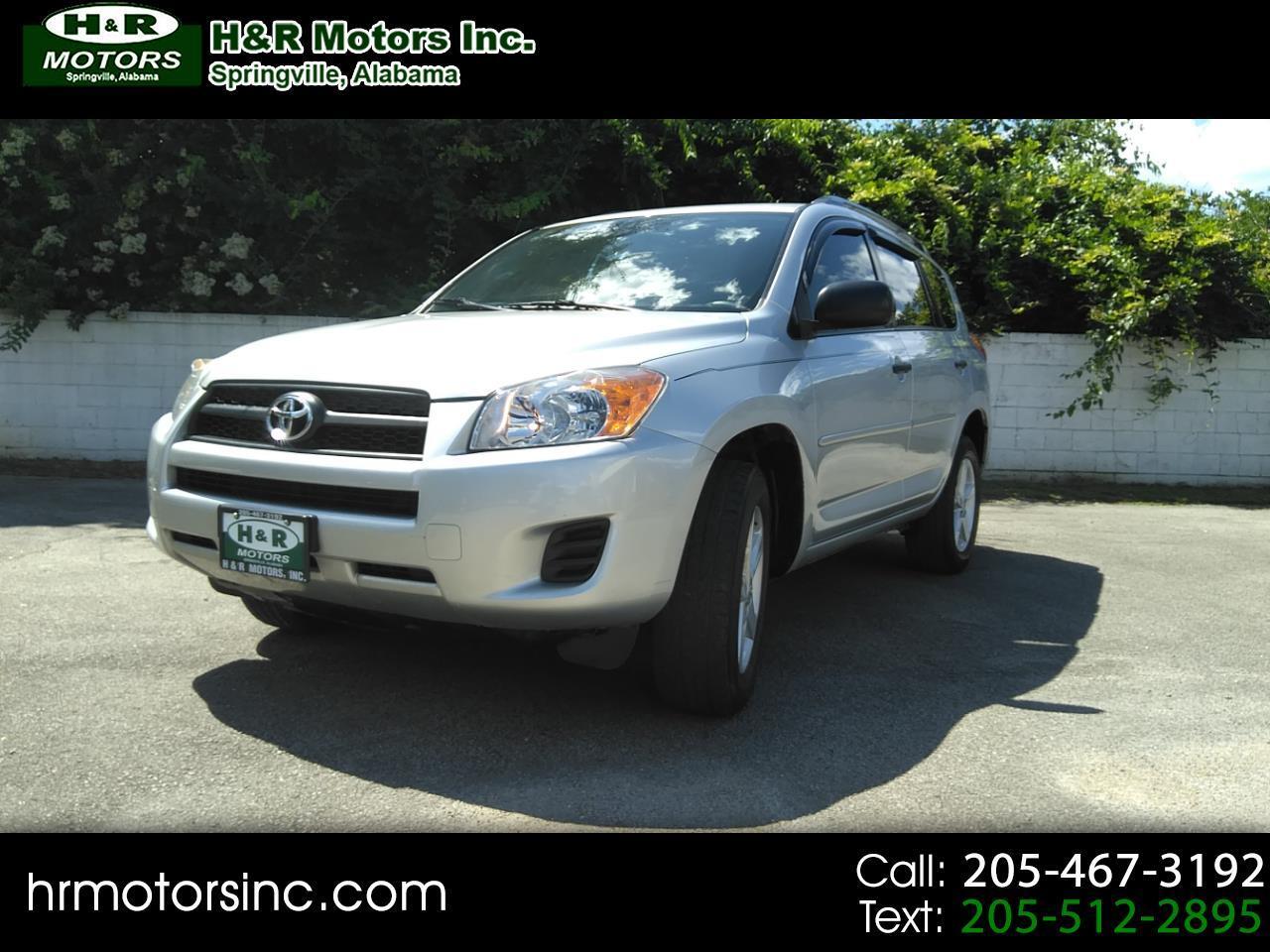 2011 Toyota RAV4 FWD 4dr 4-cyl 4-Spd AT (Natl)