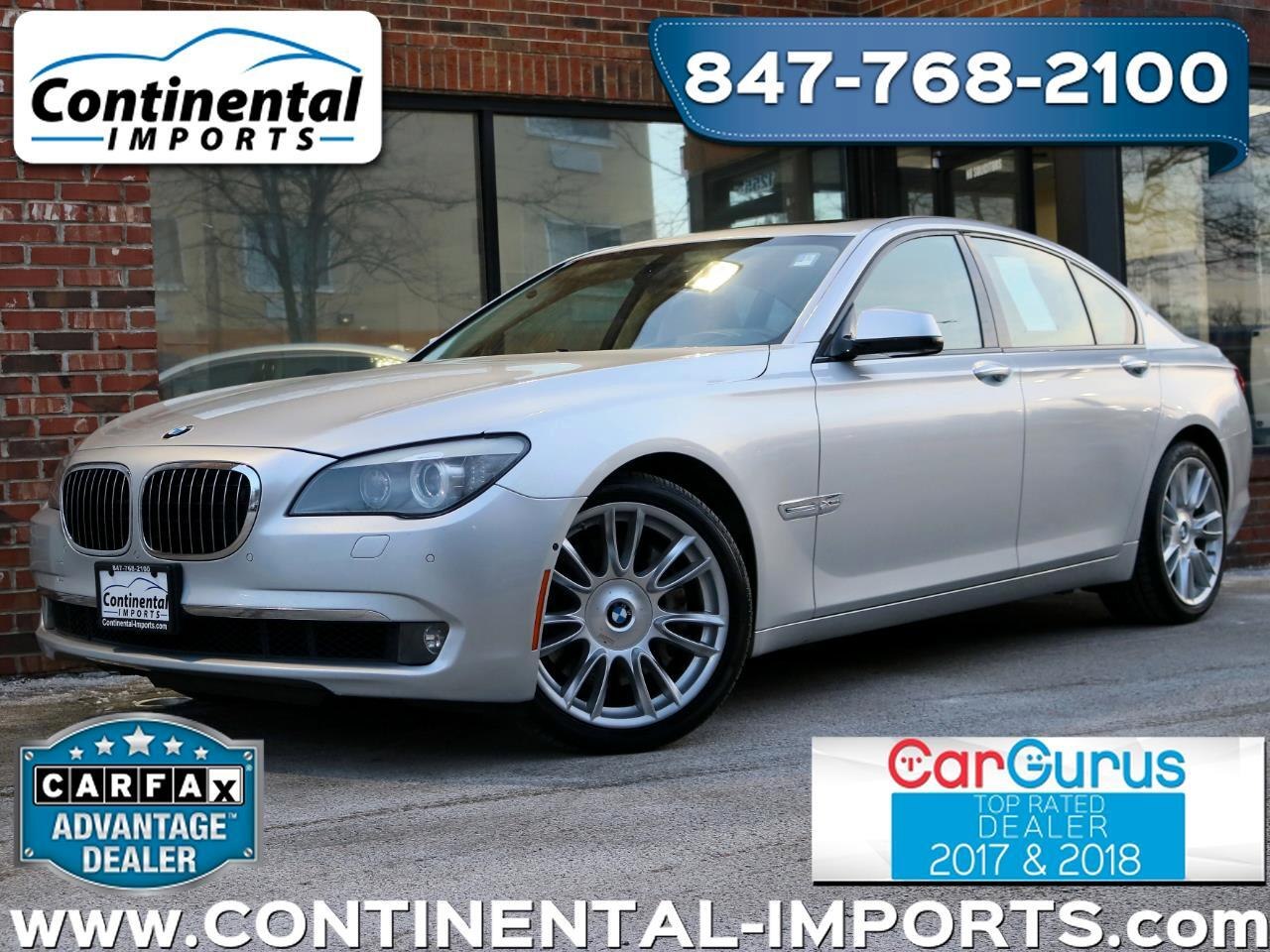 2011 BMW 7-Series 750i xDrive Individual