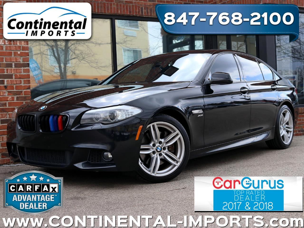 2011 BMW 5-Series 550 xi Msport