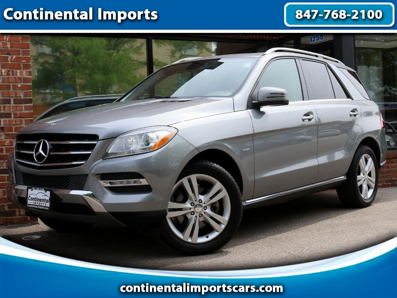 Mercedes-Benz M-Class ML350 BlueTEC 2012
